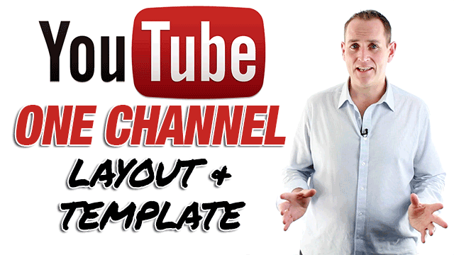 YouTube One Channel YouTube Channel Template