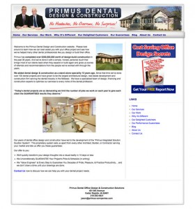 Primus Dental Solutions Site