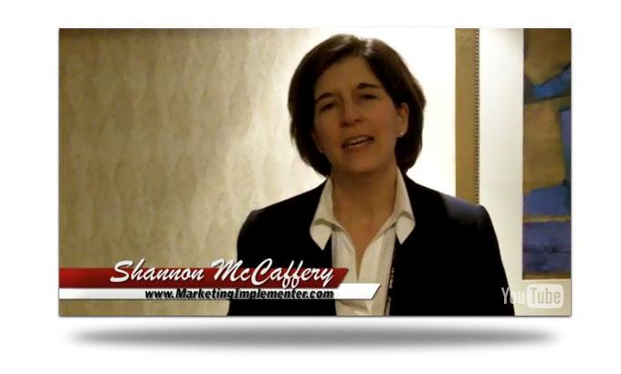 Shannon McCaffery Testimonial